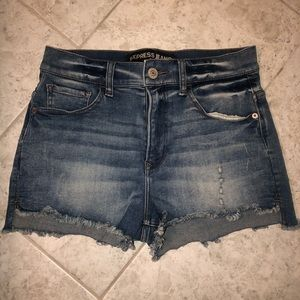EXPRESS High Rise Shorts